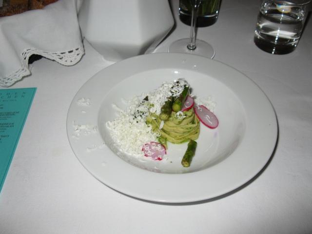 dinner at Hidden Kitchen in Paris